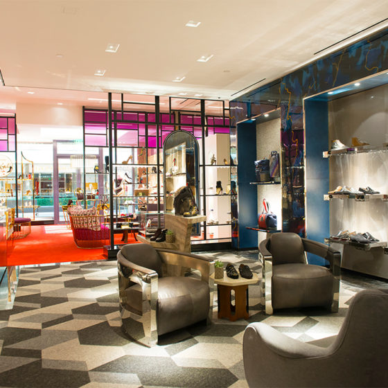 Di Nunzio Architecture Christian Louboutin Boutique