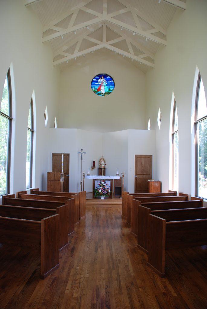 Di Nunzio Architecture Houston, Texas Cotton Divine Mercy Catholic Church